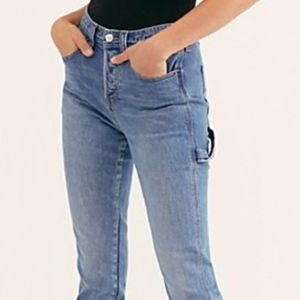 """FREE PEOPLE """"Maggie May Carpenter Jeans"""" NWT"""
